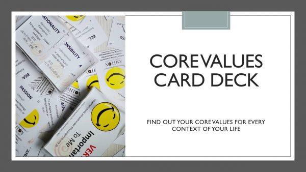 core value card decks